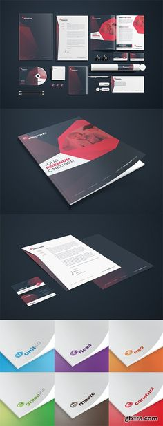 Multipurpose, easy to customize and modern corporate identity/stationery for all sorts of businesses. One of the most exclusive, popular and premium corporate Presentation Folder, Stationery Templates, Note Paper, Letterhead, Corporate Identity, Photoshop, Cards Against Humanity, Branding