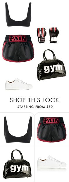 """""""Untitled #1175"""" by marty9950 ❤ liked on Polyvore featuring Rochelle Sara, Misbehave, Trumpette and Gianvito Rossi"""