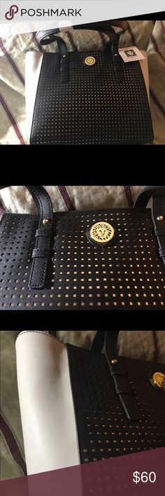 Anne klein Black & white bag. Don't mis the opportunity of wearing this elegant and beautiful bag. For any occasion, you really wonderful. Anne Klein Bags Shoulder Bags
