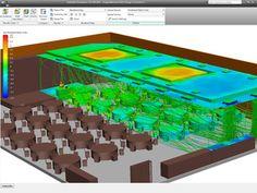 Conference room thermal comfort / HVAC by Jonathan Den Hartog #Simulation