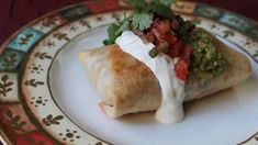 Chicken and Mushroom Chimichangas Allrecipes.com