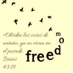 El que hace todo nuevo #letitgo #grace Isaias 43:18