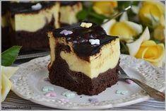 Ciasto izaura - sernik i murzynek w jednym