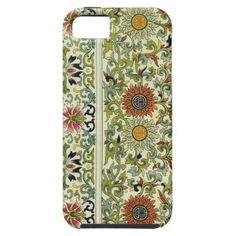 floral tapestry design iphone 5 case