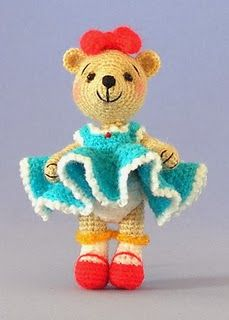 Free Crochet Pattern: Miniature Bag of Hugs         Free Crochet Pattern: Miniature Trools           Free Crochet Pattern: Miniatur...