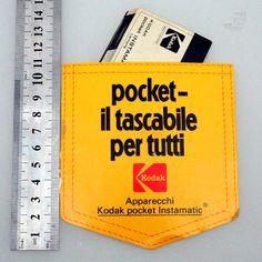 Sticker KODAK POCKET | cyan74.com vintage & pop culture