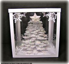 My 3D Paper Christmas Tree !!!