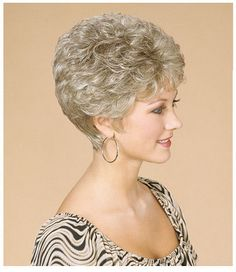 Today we have the most stylish 86 Cute Short Pixie Haircuts. We claim that you have never seen such elegant and eye-catching short hairstyles before. Pixie haircut, of course, offers a lot of options for the hair of the ladies'… Continue Reading → Short Hair Over 60, Short Permed Hair, Grey Curly Hair, Short Curly Wigs, Short Grey Hair, Short Hair With Layers, Short Hair Cuts For Women, Curly Hair Styles, Haircut For Older Women