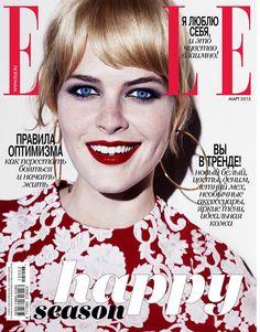 Michaela Hlavackova in Dolce&Gabbana for Elle Russia March