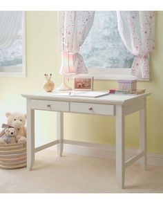 When you want your child's room to have a clean, modern look, consider choosing white kids' furniture. Click to browse through all of our favorite white beds, dressers, and desks that keep belongings organized and don't add to visual clutter.