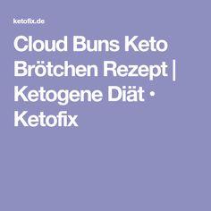 Cloud Buns Keto Brötchen Rezept | Ketogene Diät • Ketofix
