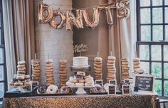 Who says you can only have cake at your wedding–why not throw cupcakes, donuts and other sweet treats into the mix as well?! Dessert tables are basically a wedding staple, and we couldn't be happier about it. We've rounded up the 20 most drool-worthy dessert tables that are sure to satisfy every swe