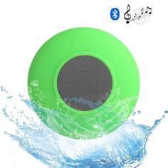 Waterproof Mini Wireless Bluetooth Speaker Suction Portable speaker Mini Green #Unbranded