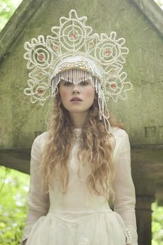 Haute Couture Headpiece I wonder how hard I'd be judged at school if I were…