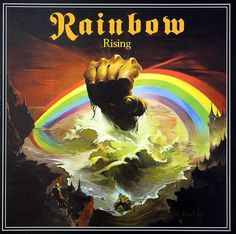 25 Greatest Hard Rock and Heavy Metal Album Covers Ritchie Blackmore's Rainbow – Rainbow Rising – 25 Greatest Hard Rock and Heavy Metal Album Covers Greatest Album Covers, Iconic Album Covers, Rock Album Covers, Classic Album Covers, Music Album Covers, Music Albums, Power Metal, Hard Rock, Heavy Metal