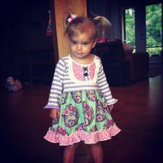 The Emily Dress (18m, 2T,3T,4T, & 6). $48.00, via Etsy.