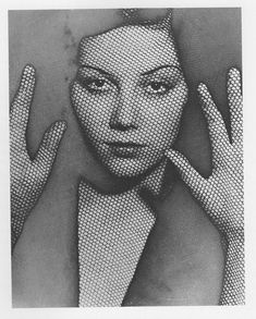 The Veil by Man Ray, 1930.