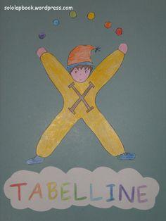 copertina lapbook tabelline