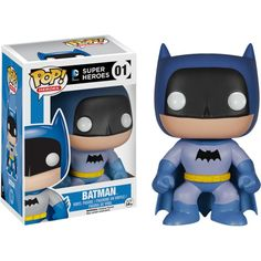 Batman basic blue version