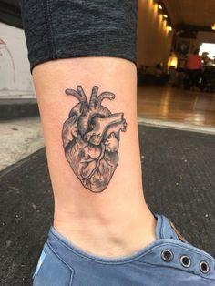 Tattoo Back Anatomical Heart Tattoos