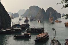 Bahia de Halong, Vietnam.