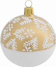 2 Glas Christbaumkugeln Branches Gold matt 8 cm, Mundgeblasene Glas Kugel, Christbaumschmuck, Weihnachtsbaumkugeln, Glaskugeln, Weihnachten Siehe mehr unter http://www.woonio.de/p/2-glas-christbaumkugeln-branches-gold-matt-8-cm-mundgeblasene-glas-kugel-christbaumschmuck-weihnachtsbaumkugeln-glaskugeln-weihnachten/