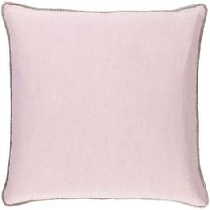Sasha Lavender 22-Inch Pillow with Down Fill