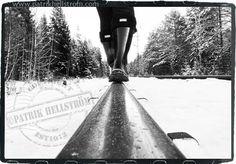 B/W photography winter Hunter Photo©PatrikHellström