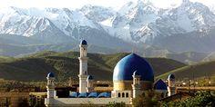 Central Mosque Almaty Azerbaijan