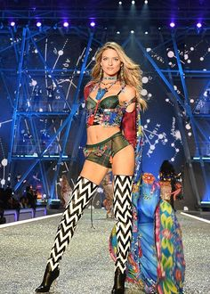 1a0dd19b13 Angel Martha hunt walking during the road ahead section at the Victoria s  Secret fashion show 2016