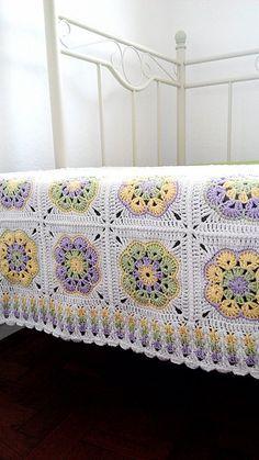 Ravelry: galunic's African Flower Blanket