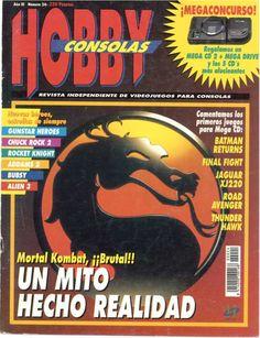 Portada de la edición número 21 publicada en el año 1993. En ella se anuncia la llega a las videoconsolas de unos de los juegos de lucha más aclamado y más salvaje: el Mortal Kombat. También se comentan los primeros juegos que salieron para Mega CD, la consola de Sega, como son el Batman Returns, Final Fight...
