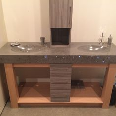 Concrete Design, Sinks, Homes, Bathroom, Ideas, Bath Room, Houses, Utility Room Sinks, Sink Tops