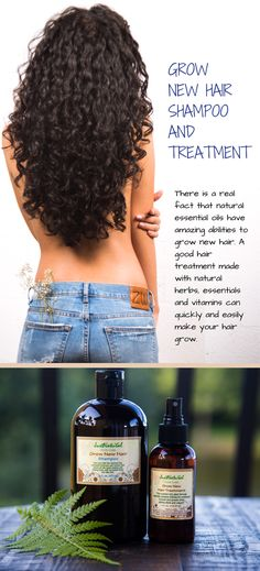 The days of nasty chemicals on hair treatments are gone. Now you can finally get an unbelievably healthy long hair from this natural grow new hair shampoo and treatment.