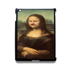 Ron Swanson Monalisa TATUM-9319 Apple Phonecase Cover For Ipad 2/3/4, Ipad Mini 2/3/4, Ipad Air, Ipad Air 2
