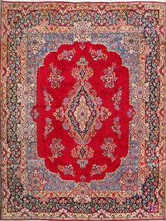 """Kerman Persian Rug, Buy Handmade Kerman Persian Rug 9' 10"""" x 13' 0"""", Authentic Persian Rug $2,860.00"""