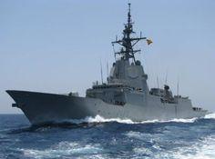 "Fragata ""Blas de Lezo"", de la Armada española."