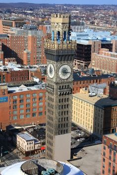 Bromo Seltzer Tower, located in downtown Baltimore.  Another part of Baltimore's interesting history!