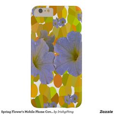Spring Flower's Mobile Phone Covers Barely There iPhone 6 Plus Case