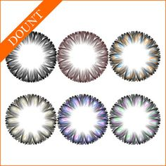 viviaina donut color contact lenses big eye colored blends wholesale cheap circle lens hot selling contact lenses