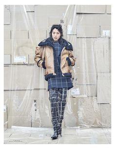 Balenciaga featured in Dazed Korea July 2016 Issue