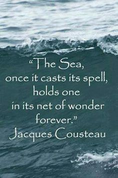 The wonder of the world beneath the sea fascinates the human spirit. For those, who love diving, consider Kosrae, whose reefs are considered to be among the most pristine remaining in the world. Ocean Quotes, Beach Quotes, Nature Quotes, Sailing Quotes, Life Quotes, Beneath The Sea, Under The Sea, Scuba Diving Quotes, Jacques Yves Cousteau
