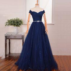 Pd10107 High Quality Prom Dress,A-Line Prom Dress,Tulle Prom Dress,Cap-Sleeve Prom Dress, Lace-Up Prom Dress