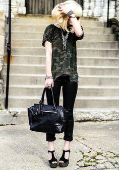 Shop this look on Kaleidoscope (pants, shirt, sandals) http://kalei.do/WpbY27trQ2lQs07J