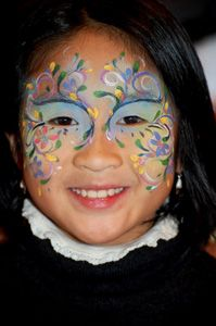 FaceART - Artistic face painting for your event - They are amazing.