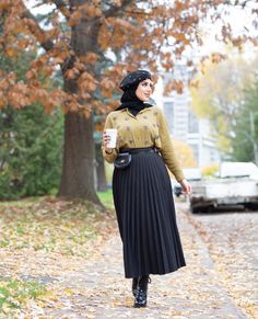 How To Wear Midi Skirts With Hijab Fashion- image:@nourr.hoda - Looking for Inspiration On How To Wear Midi Skirt Outfits, Casual Hijab Outfit With Skirt, Summer Hijab Outfit With Skirt, Street Style Skirt, Then Keep Reading For Inspo On Street Hijab Fashion, Chic Skirt Hijab Outfit, Black Skirt Hijab Outfit Casual Outfits With Modest Skirts, Classy Modest Outfits And Much More. #skirtoutfits #hijaboutfit #hijabstylecasual #winteroutfits #hijabfashion #hijaboutfit
