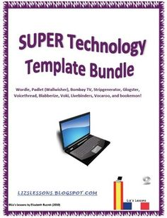 This document contains student instruction sheets/templates for 11 popular websites used in education: Wordle, Glogster, Padlet (Wallwisher),Stripgenerator, Bombay TV, Blabberize, Voicethread, LiveBinders,Voki, Vocaroo, and Bookemon.