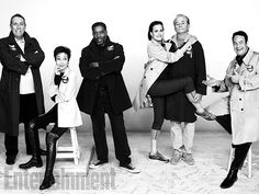Ivan Reitman, Annie Potts, Ernie Hudson, Sigourney Weaver, Bill Murray, and Dan Aykroyd, Ghostbusters