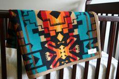 Tribal Wool baby blanket by MercyGreyDesignCo on Etsy, $120.00.. need for that someday baby!!!!! #mercygrey