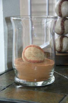 Baseball inspired home decor!